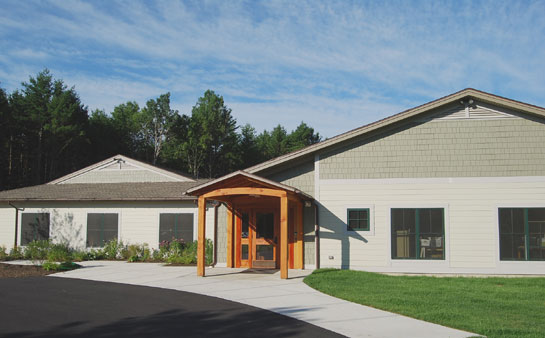 Montessori School of the Berkshires - entry