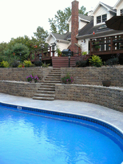 Swimming pool in Schuylerville, NY - 1
