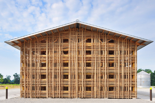 a different kind of pole barn