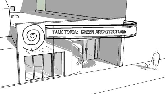 1-Topia Arts Center - line dwg