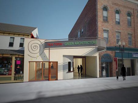 2 - Park Street facade