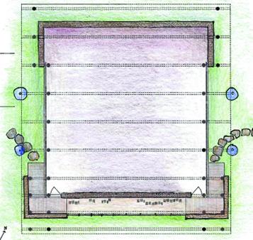 Mesa Project - movement pavillion - plan