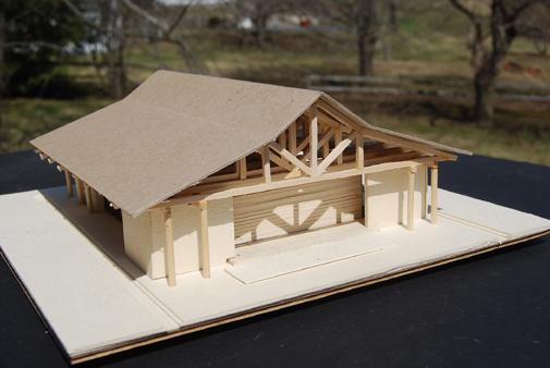 Mesa project - movement pavillion model 1
