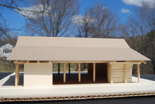 Mesa project - movement pavillion model 2