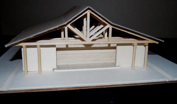 Mesa project - movement pavillion model 3