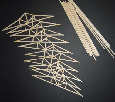 Mesa project - movement pavillion model building 2