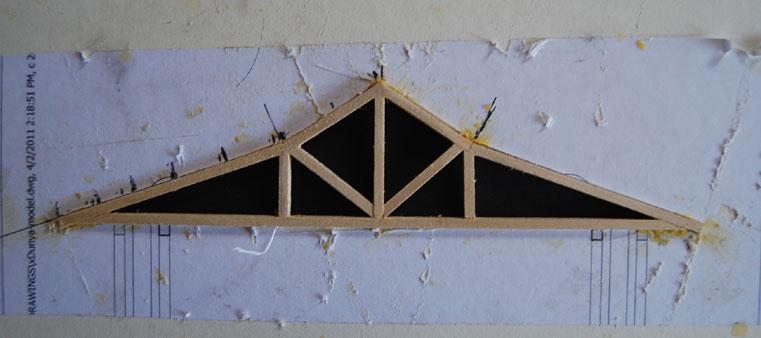 Mesa project - movement pavillion model building