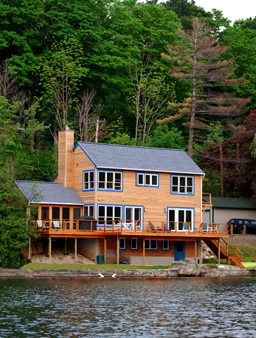 Re-build on Laurel lake